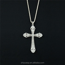 Sterling silver crucifix pendant Silver pendants for jewelry making