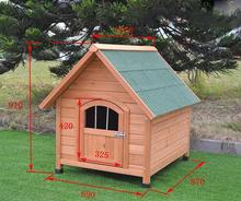 High quality popular wooden dog cage dog house
