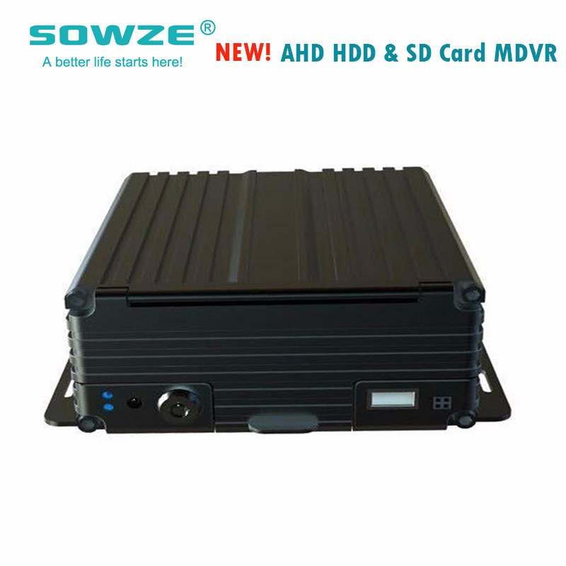 mdvr with sd card slot cctv system mdvr for bus/taxi/police car/truck