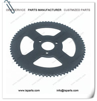 Mini Moto 72 Tooth Rear Chain SPROCKET 49cc 72T 6mm 25H