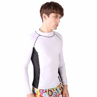 SBART 2015 Men's Surfing Shirt, Sportswear and Split Diving Wetsuits in Lycra for Beachball, Waterpolo and Triathlon