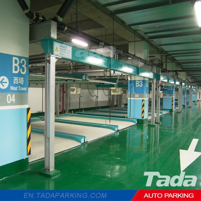 PSH stack parking equipment/smart car parking/simple vehicle parking system for underground garage