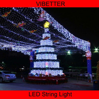2016 IP44 Wedding Party Festival Christmas Decoration Solar Powered LED String Lights