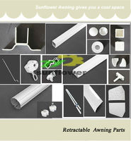 aluminum awning parts,awning components