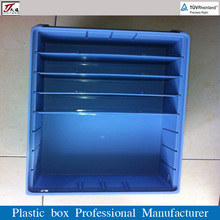 Supermarket Multifunction Plastic Bin with Dividers