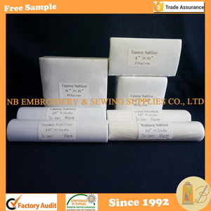 High Quality Machine Embroidery Stabilizer/Backing