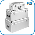 3pcs aluminum tools storage case set