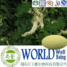 Hot sale Black Cohosh extract/Triterpenes 15%/triterpene glycosides/Anti-inflammatory plant extract