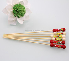 Bamboo Ball Skewers salad sticks wedding food picks