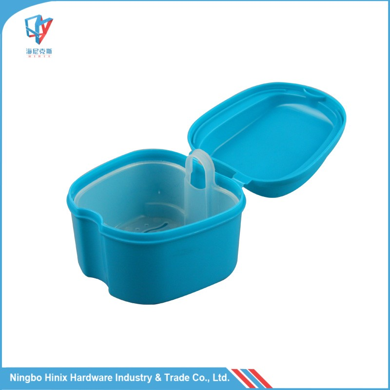 HOT SALE IN EUROPE Easy Cleaning Europe Plastic Denture Box with Mess