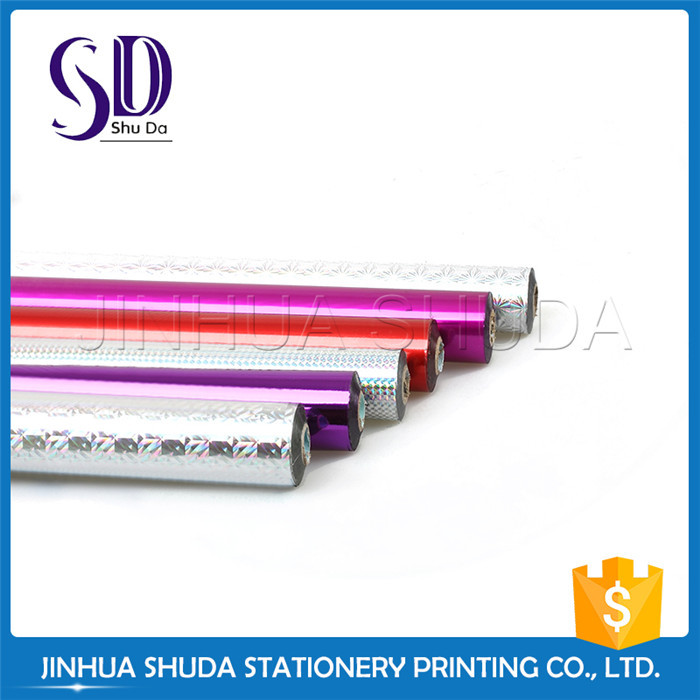 Plastic Office Stationery Transparent Hot Stamping Foil