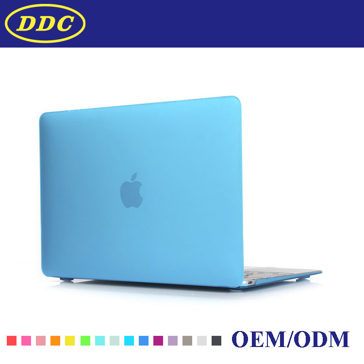 cheap rubber hard plastic shell laptop cover for apple macbook pro