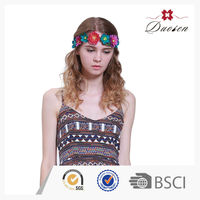 Colorful Elastic Indian Wedding Hair Accessories