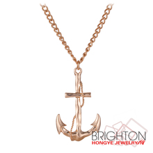 Personalized Anchor Infinity Pendant Necklace N7-7942-2700