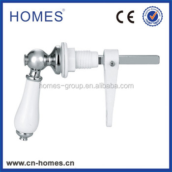 "4.5""Luxury Ceramic Cistern levers handle"