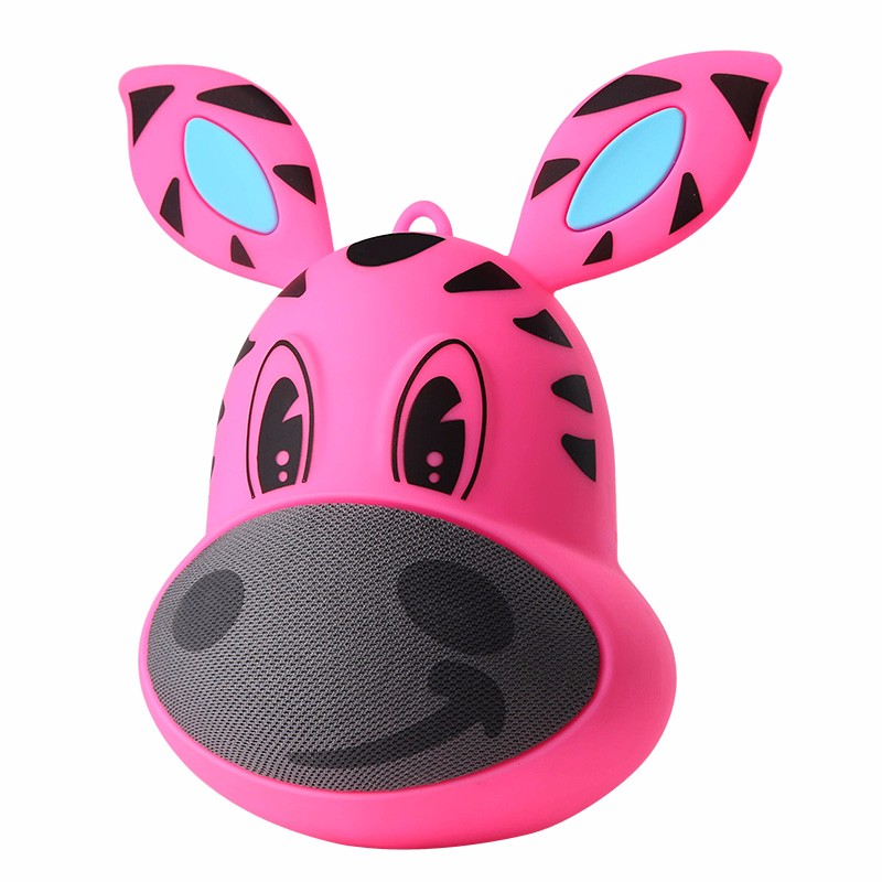 Promotion gift mini cartoon tumbler bluetooth speaker music receiver for children