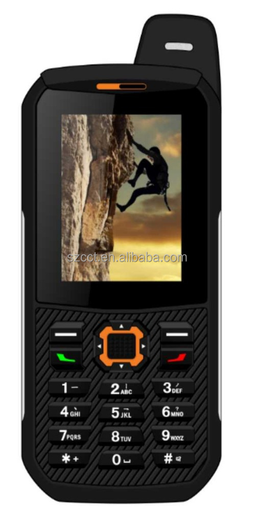Super feature rugged smart phone with 3000mAh Monster Battery for old man