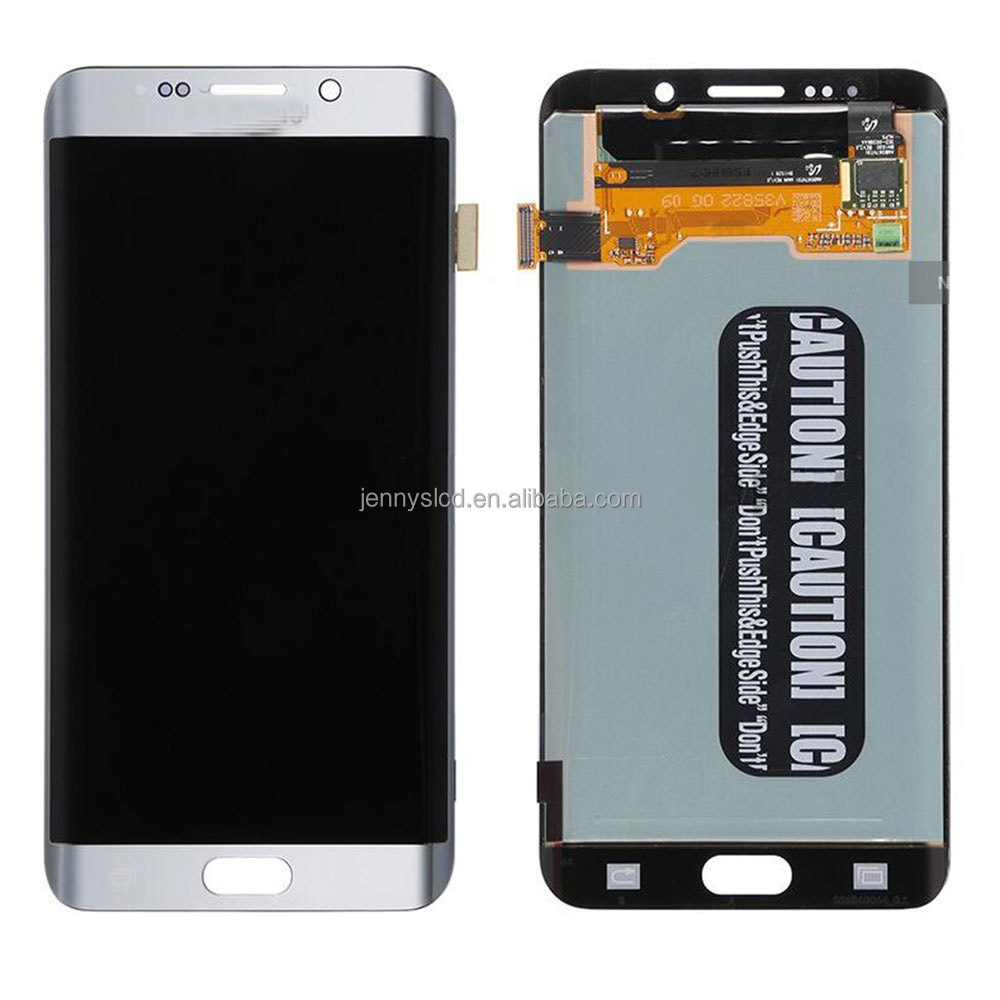2015 brand new quality guaranteed cheap for samsung S6 edge+ lcd replacement