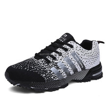 2016 new model light weight special fabric airs sports shoes for men black