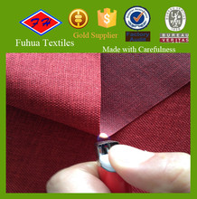 BS5852 Flame Retardant Faux Linen Fabric for Sofa Cover