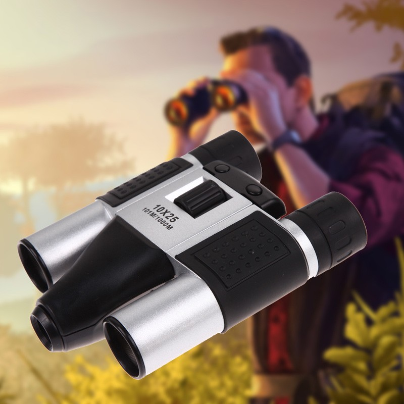 High Quality Digital Telescope 13M CMOS Sensor 10 X 25 Digital Telescope Camera Binoculars