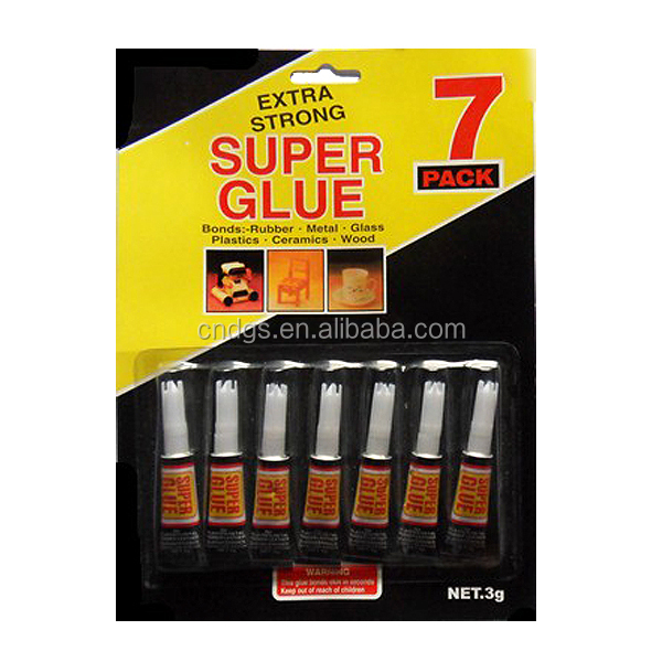 7pack chemical adhesive on blister card