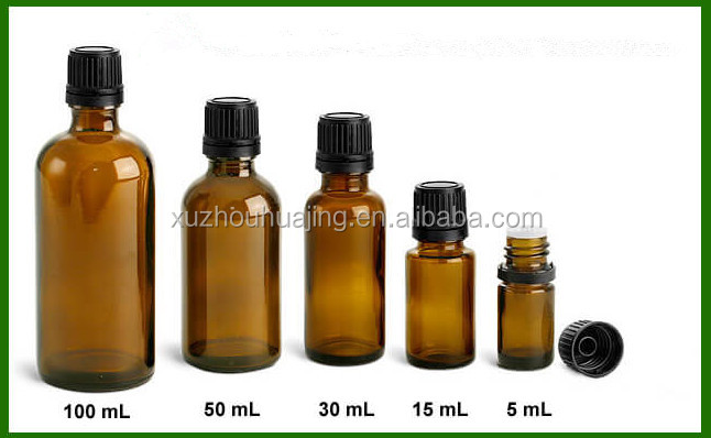 High quality 30ml 50ml amber empty maple glass syrup bottle with screw cap wholesale