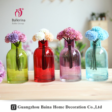 Ballerina wholesale cheap clear different type glass bud centerpiece decorative home vase