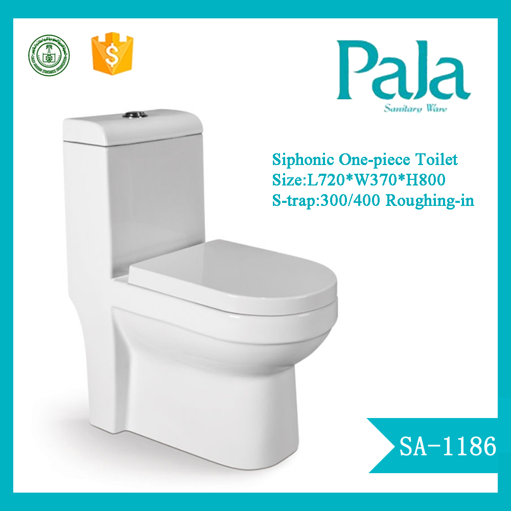 cheap price dual-flush feature ceramic siphonic washdown One Piece Toilet