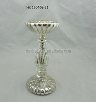 New design Hand blown mercury votive glass candle holder