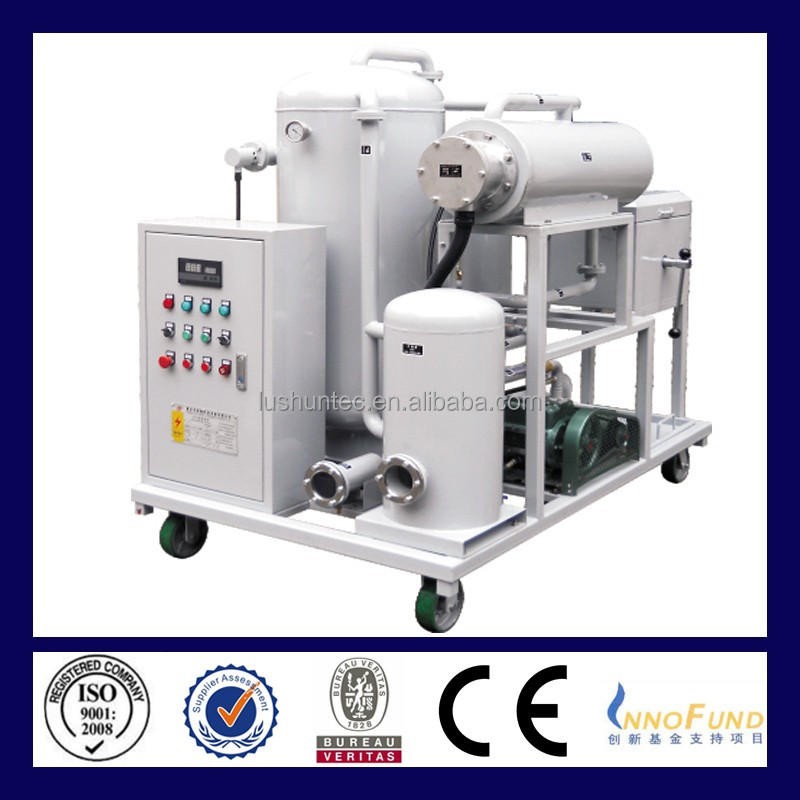 ZL Vacuumoil Purifier Series For purifying and restoring hydraulic oil,machine loil ,coolant oil various other lubrecation oil