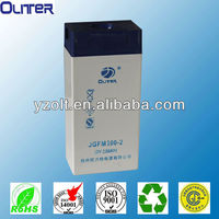 2v 100ah CE approve solar panel charger battery power