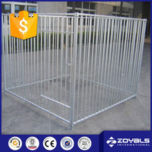 Aluminum dog kennel for car
