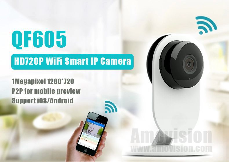 QF605 720p smart mini digital camera, xiaomi wireless mini camera,hd mini camera Xiaomi Xiaoyi