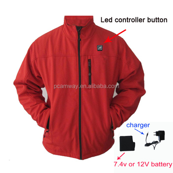 12V battery heated jacket