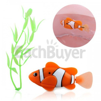 Robotic Electronic Fish Clownfish Kids Toy