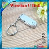 2016 Hot sell Metal swivel, High-speed 64MB-64GB Stainless steel USB Flash Drive