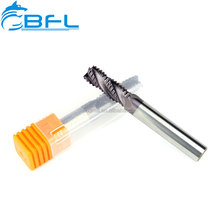 BFL DIN Standard Germany Rough End Mill/Solid Carbide AlTiN Coating Rough End Mill For Steel
