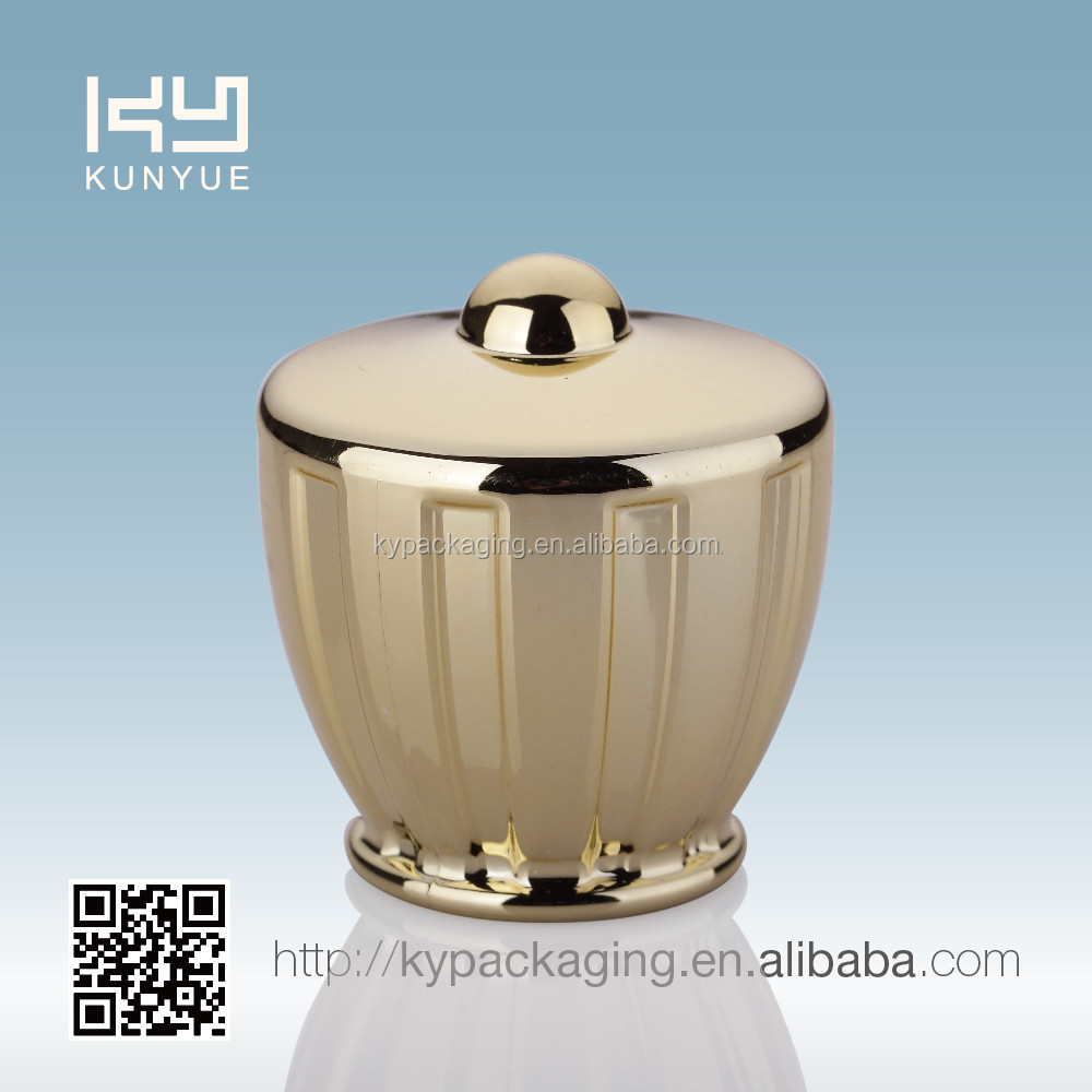 ZJ-962 crown shaped UV cap with PP insert for perfume bottle