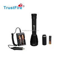 Original Trustfire factory J18 8000LM with cree xml t6 rechargeable police flashlight/hunting led flashlights