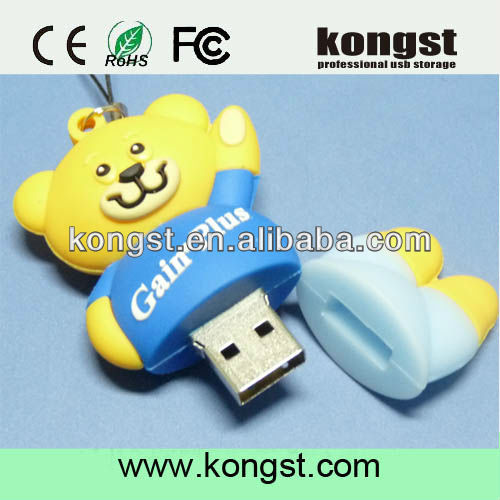 OEM PVC USB Flash Drive, 8GB Promtional Gift USB, Factory Supply Free Sample USB