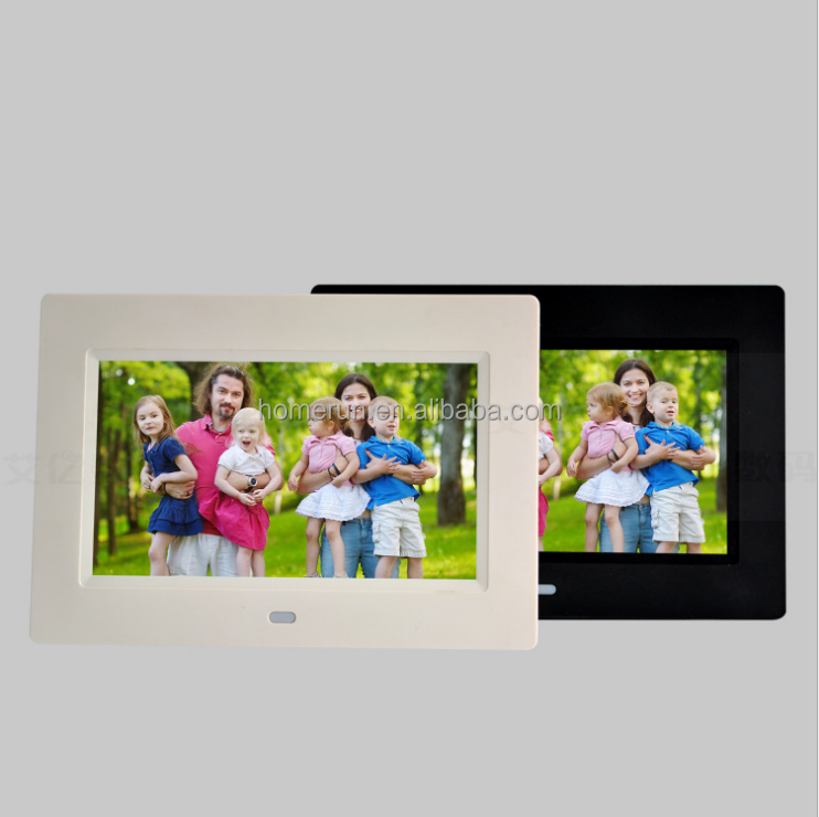 The manufacturer sells 7-inch electronic photo album digital photo frame/advertising machine holiday souvenir free custom logo e