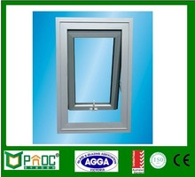 Custom Color thermal break anodized aluminium top hung windows