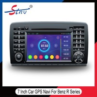 7 inch android gps navigation for BENZZ R with Car dvd player/Radio Tuner