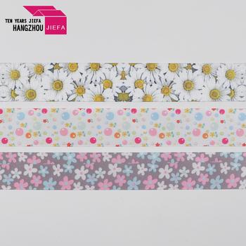 Wholesale colorful printing coated nylon webbing cotton ribbon