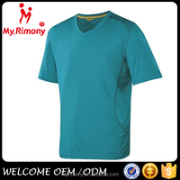 plain bulk v-neck blank t shirt china wholesale