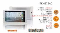 Android tablet 3G unlocked Phone mtk6572 Bluetooth Calling GPS Wifi Dual Core Dual Sim