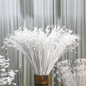 Artificial Flower Wedding Peacock Props Flower Phoenix Feather Flying Grass Reed Leaves Onion Grass
