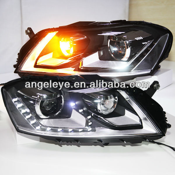 2012-2014 year Magotan Passat B7 LED Headlight with Bi Xenon Projector Lens SY