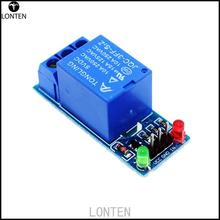 Fast Shipping 5V low level trigger One 1 Channel Relay Module interface Board Shield For PIC AVR DSP ARM MCU aduino